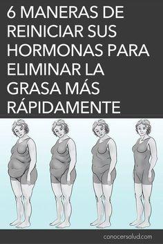 6 maneras de reiniciar sus hormonas para eliminar la grasa más rápidamente