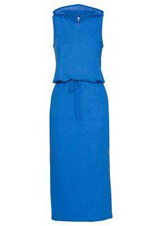 Dlhé úpletové šaty s kapucňou S kapucňou • 19.99 € • bonprix