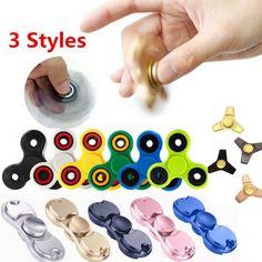Hand Spinner Tri Fidget Tri-Spinner Helps Focusing Toy [3D Figit] Autism Hot