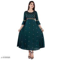 Kurtis & Kurtas Women's Embroidered Rayon Kurti Fabric: Rayon Pattern: Embroidered Combo of: Single Sizes: S (Bust Size: 36 in)  M (Bust Size: 38 in)  L (Bust Size: 40 in)  XL (Bust Size: 42 in)  XXL (Bust Size: 44 in)  XXXL (Bust Size: 46 in) Country of Origin: India Sizes Available: S, M, L, XL, XXL, XXXL   Catalog Rating: ★4.3 (438)  Catalog Name: Banita Sensational Kurtis CatalogID_1597043 C74-SC1001 Code: 364-9188826-8811