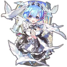 Post with 0 votes and 2878 views. Angelic Rem-rin [Re:Zero] Girls Characters, Anime Characters, Chibi, Anime Krieger, Ram And Rem, Loli Kawaii, Anime Warrior, Anime Kunst, Re Zero
