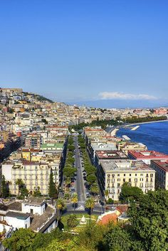 Along The Sea, Naples, Italy