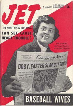 JUN 1952 JET MAGAZINE VOL.2 #8 (Helyn Doby) Jet Magazine, Black Magazine, Vintage Magazines, Black Media, Magazine Covers, Jun, Vintage Black, Movie Posters, Film Poster
