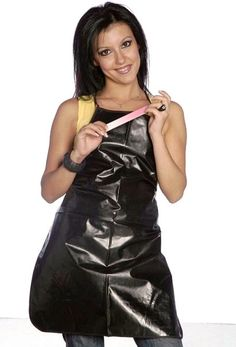 Plastic Aprons, Pvc Apron, Rubber Gloves, Hairdresser, Blouse, Latex, Bodycon Dress, Female, Nice