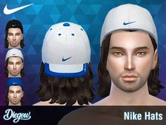 The Sims Resource: Hats by Di3g0w • Sims 4 Downloads