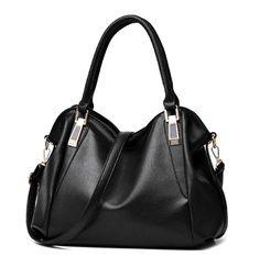 8d1fc8cc2c Hollow Out Large Leather Tote Bag 2017 Luxury Women Shoulder bags