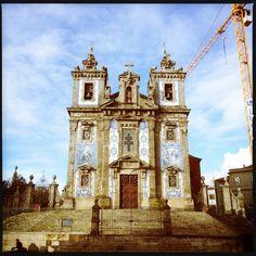 Fachada da Igreja Santo Ildefonso (by Iphone)