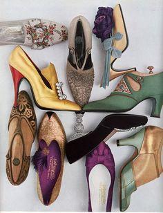 vogue 1956, shoes