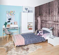 Nog op zoek naar een nieuwe #kinderslaapkamer ? Grijp je kans nu het nog #solden zijn bij @be_okay_youngliving ! 🛏🧡 • • • #be_okay_youngliving #be_okay #decoratie #decoration #beokay #becool #besmart #interior #deco 🧡 Young Living, Nars, Toddler Bed, Diy, Concept, Design, Furniture, Home Decor, Modern