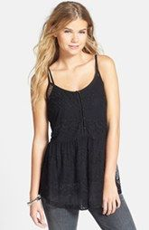 BP. Lace Tunic Camisole (Juniors)