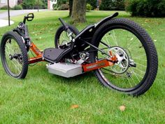 KMX Recumbent Tadpole Trikes (Electric or Pedal) - RC Groups