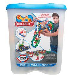Amazon.com: ZOOB BuilderZ 250 Piece Kit: Toys & Games