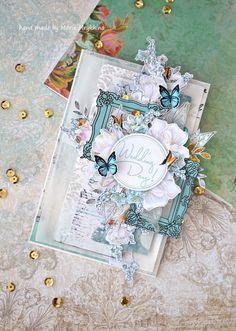 Created by Maria Mrykhina: Свадебная открытка. ПД в блоге ЧайкаShop