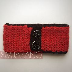 """Knitted red collar """"Red Apple"""" / воротник / защита от ветра by Svjazano on Etsy"""