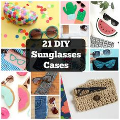 Having a sunglasses case is a lifesaver in those moments. Get creative with these 21 cool DIY sunglasses cases that are fun and practical!