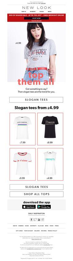 Slogan tees from Slogan Tee, New Look, Maternity, Marketing, Tees, Inspiration, Shopping, Women, Fashion