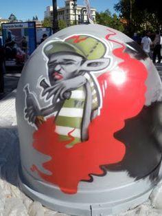 "AerosolStreet: Urban Art Competition ""TODOTUYO!"" in Seville"