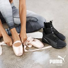 Put your fiercest foot forward | PUMA Fierce