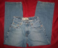 Boys Jeans LEVI'S 569® LOOSE STRAIGHT Red Tag Blue DENIM Size 10 Reg (25W x 25L) #Levis #LooseStraight #Everyday