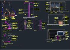 Toilet Plumbing Detail with Pipes and fittings - Autocad DWG L Shaped Bar, Pvc Pipe Fittings, Staircase Railing Design, Bar Counter Design, Service Counter, Bar Unit, Restaurant Service, Modern Drawing, Vanity Design