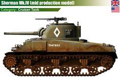 US Sherman Mk.IV Cruiser Tank