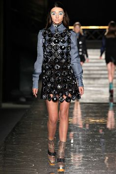 fall 2012 ready-to-wear  Miu Miu  Runway  Miranda Kerr (IMG)    click to view details ›  view fullscreen ›
