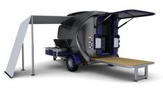 Compact Caravan by Heather, via Behance