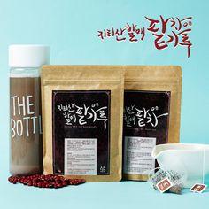 지리산 할매 팥차 (redbean tea) designed by brand-container (director@aionco.kr) Coffee, Drinks, Drinking, Beverages, Drink, Beverage, Coffee Art, Cocktails, Cup Of Coffee