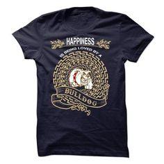 LOVE BULLDOG T Shirts, Hoodies, Sweatshirts. CHECK PRICE ==► https://www.sunfrog.com/Pets/LOVE-BULLDOG-53526299-Guys.html?41382