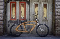 Met the designer/founder of Driftwood Cruisers last summer, now wondering why we aren't all riding hollow wooden bikes.