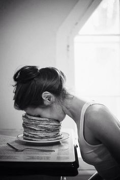 pancake face-plant
