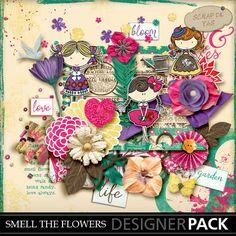Kit Smell the flowers de Scrap de Yas