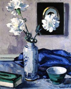'Carnations' Francis Campbell Bolleau (F.C.B.) Cadell, c.1923-1927 #art