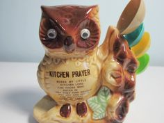 vintage+Owl+Kitchen+Prayer+with+Measuring+by+TheVintageApartment,+$20.00