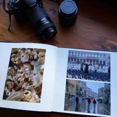 Mix up photo sizes and layouts in your photo albums to create an interesting presentation.