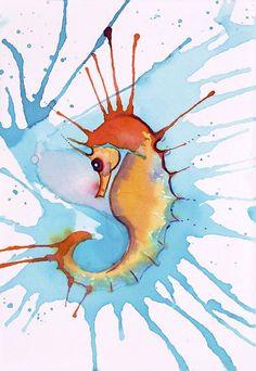 Splash Seahorse