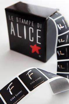 Stickers black and silver - GINO FABBRI