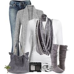 love the gray suede <3