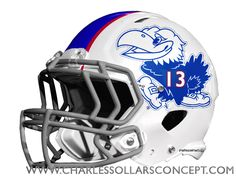 Charles Sollars Concepts @Charles Sollars #kansas #jayhawks http://www.charlessollarsconcepts.com/what-i-say-the-new-kansas-helmets-should-look-like-im-right/