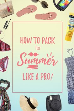 The ultimate Summer Packing List for wherever your travels take you - beach, island paradise, whether in Europe, Maldives, Thailand or Philippines, for 1 week or a road trip. Find everything you need here!