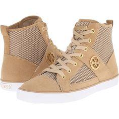 Womens Shoes GUESS Mamari Natural Fabric