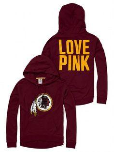 Victoria's Secret PINK Slouchy Bling Hoodie #VictoriasSecret http://www.victoriassecret.com/pink/washington-redskins/slouchy-bling-hoodie-victorias-secret-pink?ProductID=80769=OLS?cm_mmc=pinterest-_-product-_-x-_-x