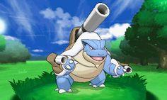 Blastoise: one of my favorite Pokémon.