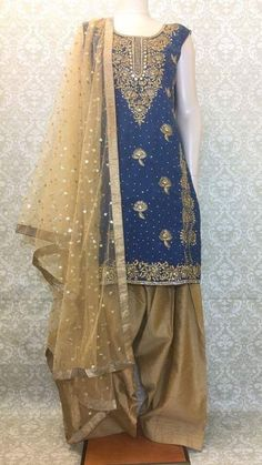 Patiala suits is north Indian's pride. This collection has the exact ingredients of what is required for a perfect Patiala's . The designs are divergent yet very homogenous. A Perfect Collection for a
