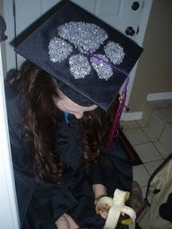 "my custom Clemson graduation cap- lots of rhinestones     My family had no trouble finding me"" data-componentType=""MODAL_PIN"