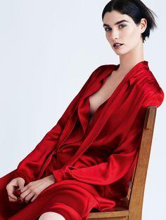 Vogue Espanha Dezembro 2014 | Manon Leloup por Victor Demarchelier [Editorial]