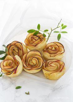 Este San Valentín regala flores comestibles. Receta de rosas de manzana