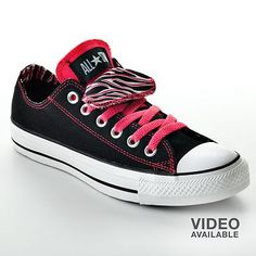 ff117b486b7c Converse Chuck Taylor All Star Double-Tongue Shoes - Women Cute Converse
