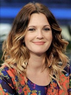 Ombre Hair: Drew Barrymore