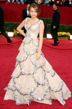 Miley Cyrus in Zuhair Murad Couture 2009